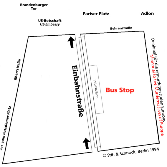 Bus Stop competition area > Einbahnstra�e